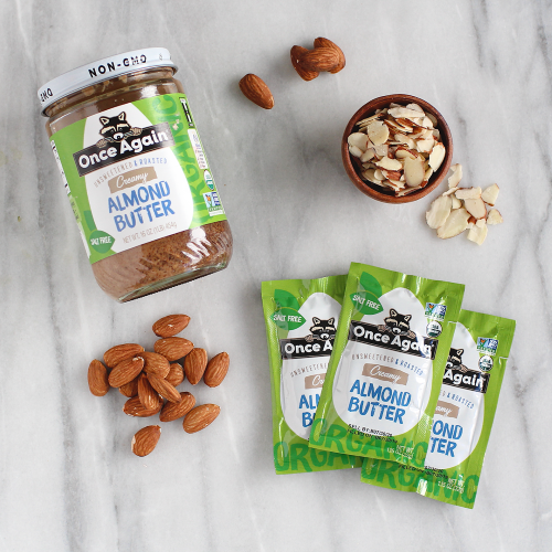 organic Almond Butter Packet
