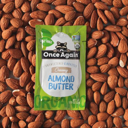 almond butter packet